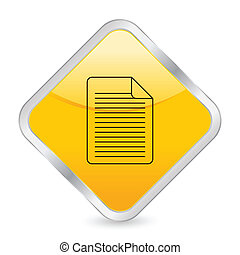 document yellow square icon