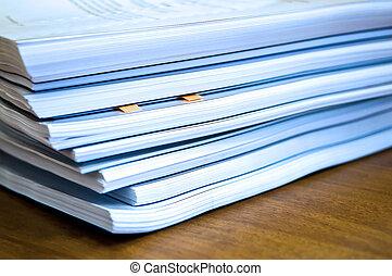 documenten, aambeien