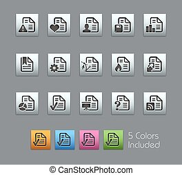 documenti, icone, satinbox, -, /, 2