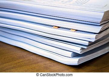 documenti, mucchi