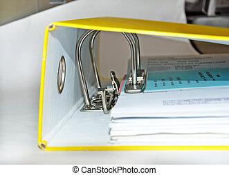 documento, arquivo