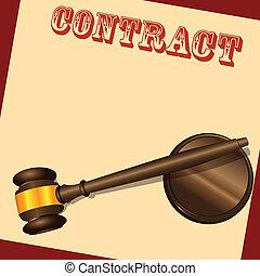 documento, contrato