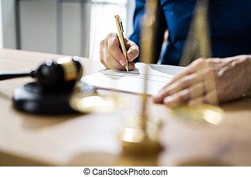 documento legale, arbitrato, contratto
