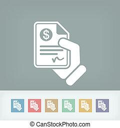 documento, pagamento