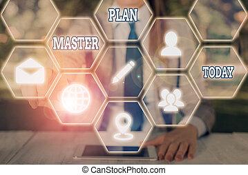 documento, planificação, escrita, comprehensive, texto, mestre, palavra, longterm, dinâmico, action., conceito, plan., plano, negócio