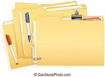 documento, stack.eps, file