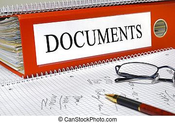 documentos, arquivo