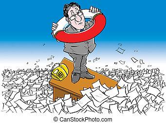 documentos, circulación