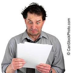 documentos, estresante