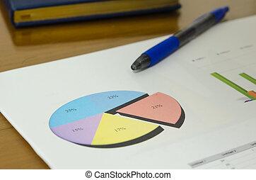 documentos, finanças, negócio