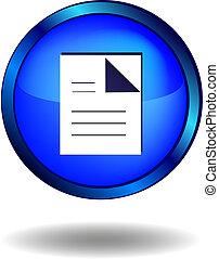 documentos, icono
