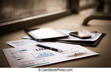 documentos, negócio