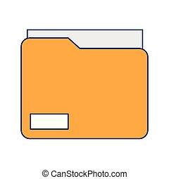 documents folder icon blue lines