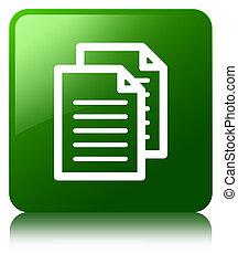 Documents icon green square button