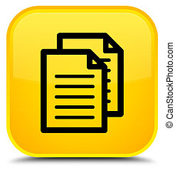Documents icon special yellow square button
