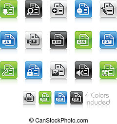 Documents Icons - 1 // Clean Series