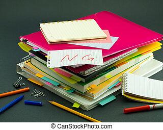 documents;, pila, empresa / negocio, ng