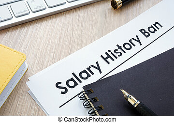 Documents with title Salary history ban.