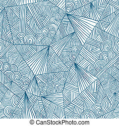 doddle, pattern., seamless