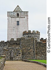 Doe Castle in Ireland