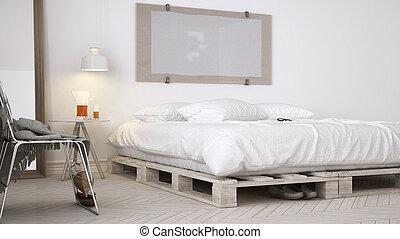 Witte Scandinavische Slaapkamer : Ontwerp eco scandinavische slaapkamer doe het zelf chic witte