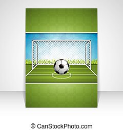 doel, bal, voetbal
