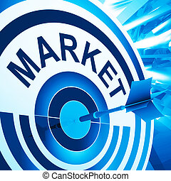 doel, middelen, doelgericht, reclame, consument, markt