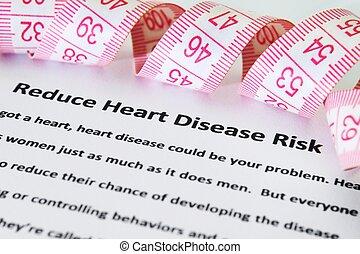 doença coração, risco