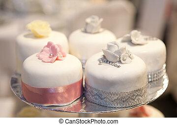 dof), 蛋糕, (shallow, 婚禮