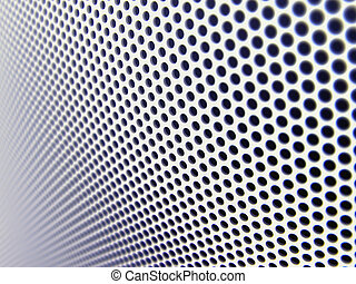dof), metallo, maglia, (shallow, struttura