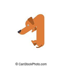 dog., αλφάβητο , νούμερο , κατοικίδιο ζώο , αλφάβητο , σύμβολο. , one., σήμα , 1 , ζώο , σπίτι , κολυμβύθρα , είδος γερμανικού κυνηγετικού σκύλου
