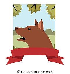 dog animal pet banner