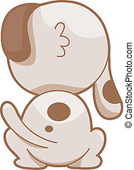 Dog Back - Illustration of Illustration Featuring the Back...