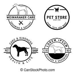 Dog badge