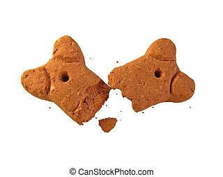 Dog biscuit - Broken dog biscuit