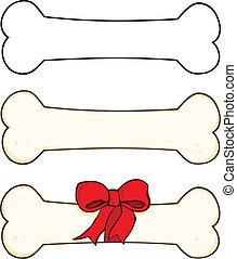 Dog Bone Cartoon 1  Set Collection