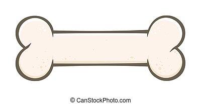Dog Bone Cartoon Drawing