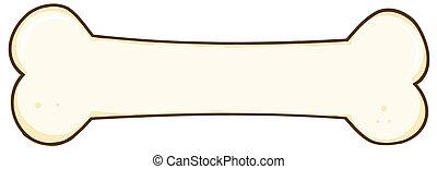 Dog Bone Cartoon Character