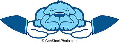 Dog Care Illustration