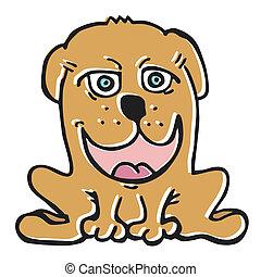 Dog cartton
