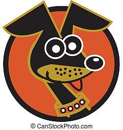 Dog clip art dachshund cartoon