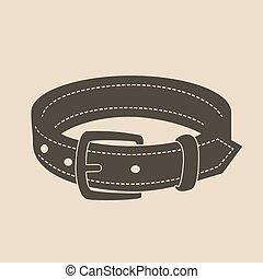 Dog collar.