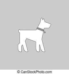 Dog computer symbol