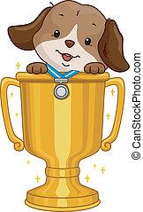 Dog Contest Winner