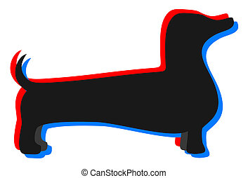 Dog effect - Creative design of dog effect