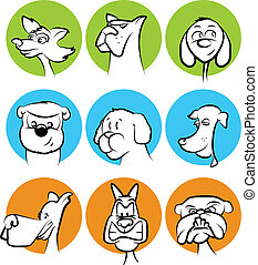 Dog Faces Collection