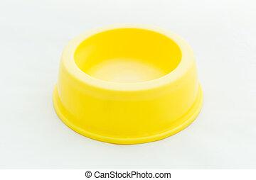 Dog Food Bowl / Dog Food Bowl Isolated on White