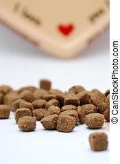 dog food with love