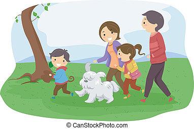 dog/, gezin