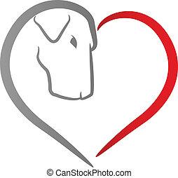 Dog Heart Icon